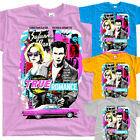 True Romance V2, movie poster, T SHIRT YELLOW BLUE ZINK all sizes S to 5XL