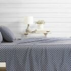 Hotel Collection - 4 Piece Quatrefoil Pattern Bed Sheet Set - Premium image