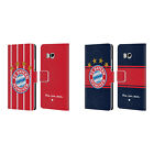 OFFICIAL FC BAYERN MUNICH 2017/18 LOGO KIT LEATHER BOOK CASE FOR HTC PHONES 1