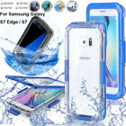 For Samsung Galaxy Note 8 S8 + S7 Edge Swimming Waterproof Shockproof Case Cover