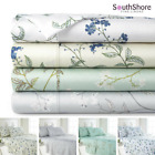 Luxury Extra Deep Pocket 100-percent Cotton Sateen Floral Print Sheet Set  image