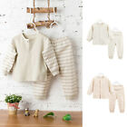 Cute Baby Toddler Infant Cotton Long Sleeve Warm Clothes + Pants Outfit