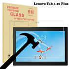 For Lenovo Tablet Tempered Glass Screen Protector Tab4 8 10 / Tab 4 8plus 10plus