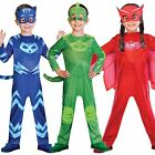 Boys Girls PJ Masks Costumes Official Childrens Superhero Fancy Dress Outfit