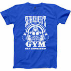Shreders Fitness T Shirt Get Shredded Funny Body Building Workout Graphic Tee S