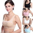 JP Women Seamless Sport Bra Thin Smooth Lace Camisol Shapewear Tops Padded