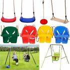 Rexco Garden Outdoor Toy Swing Seat Rope Wooden Plastic Monkey Spider Playground