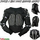 Child Kids Motorcycle Jacket Body Armour Spine Guard Protector Go Kart ATV QUAD