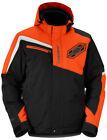 Castle X Men's Phase Jacket Black/Orange Snowmobile Snowboard Snowcross Jacket
