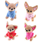 Small Vest Chihuahua Dog Plush Toy Stuffed About 17CM  Children Present JR