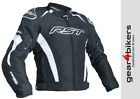 RST Tractech Evo 3 White Motorcycle Textile Jacket Motorbike Waterproof Sport