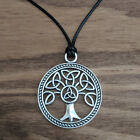 Large Yggdrasil Tree of Life Triquetra pendant ( Norse ~ Celtic ~ Pagan )