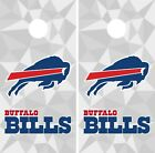 Buffalo Bills Cornhole Wrap NFL Skin Game Board Set Vinyl Decal Sticker CO38 $39.95 USD on eBay
