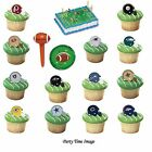 oakland raiders party decorations - NFL Cupcake Rings per 12 U Pick Football Party Decorations Superbowl Cake Kit