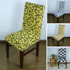 Seat Easy Spandex Removable Chair Stretch Cover Party Wedding Dining Room Short