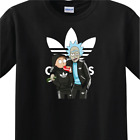 Rick and Morty - MENS Black T-Shirt - Get Schwifty