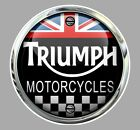 TRIUMPH Motorcycles Trompe l'oeil Sticker $8.64 CAD on eBay