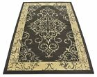 Grey Vintage Look Damask Medallion Traditional Design Area Rug Rugs 5 x 7 5 by 7