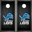 Detroit Lions Cornhole Wrap NFL Luxury Game Skin Board Set Vinyl Decal CO67 on eBay