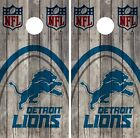 Detroit Lions Cornhole Wrap NFL Wood Game Skin Board Set Vinyl Decal CO68 on eBay