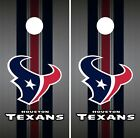 Houston Texans Cornhole Wrap NFL Team Flag Game Skin Board Set Vinyl Decal CO79 on eBay