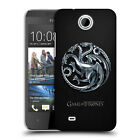 OFFICIAL HBO GAME OF THRONES EMBOSSED SIGILS HARD BACK CASE FOR HTC PHONES 3