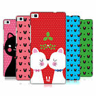 HEAD CASE DESIGNS CHRISTMAS CATS HARD BACK CASE FOR HUAWEI PHONES 1