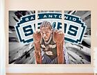 San Antonio Spurs NBA Wall Decal Art Decor Room k. Leonard Sticker Vinyl J243 on eBay