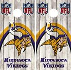 Minnesota Vikings Cornhole Wrap NFL Game Wood Skin Board Set Vinyl Decal CO84 on eBay