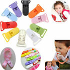 20pcs Baby Plastic Pacifier Clips Soother Dummy Bib Suspender Paci Toy Holder US