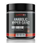 PRE WORKOUT- ANABOLIC HYPER GAINZ POWDER - ALL FLAVOURS - 250G BY MATRIX