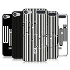JUVENTUS FOOTBALL CLUB BLACK & WHITE BLACK SOFT GEL CASE FOR APPLE iPOD TOUCH