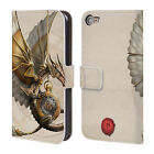 OFFICIAL ANNE STOKES STEAMPUNK LEATHER BOOK WALLET CASE FOR APPLE iPOD TOUCH MP3