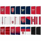 OFFICIAL ARSENAL FC CREST 2 LEATHER BOOK WALLET CASE COVER FOR APPLE iPAD