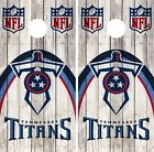 Tennessee Titans Cornhole Wrap NFL Wood Skin Game Board Set Vinyl Art CO147 on eBay