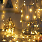 30/40 LED String Lights Star Battery Operated Waterproof Party Christmas Decor