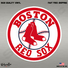 Внешний вид - Boston Red Sox MLB Baseball Color Logo Sports Decal Sticker-FREE SHIPPING