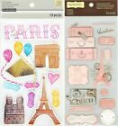 U CHOOSE Recollections PARIS Stickers Eiffel Tower Luggage Vacation France