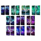 HEAD CASE DESIGNS NORTHERN LIGHTS LEATHER BOOK WALLET CASE FOR SONY PHONES 1