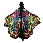 Women Beach Towel Butterfly Wings Printed Cover Ups Soft Fabric Accessory Suit