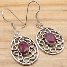 925 Silver Plated Antique Style Earrings ! Handcrafted Online Jewelry