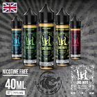 2nd Wife - Made in UK 40ml E liquid E Juice - 5 Amazing Flavours - Nic Shots