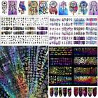 Multi Patterns Water Decals 3D Nail Art Transfer Stickers Manicure Decoration DZ