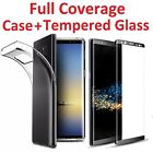 Case Cover + Tempered Glass Screen Protector For SAMSUNG GALAXY S8 Plus Note 8