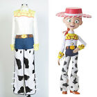 Disney Toy Story Cowgirl Jessie Cosplay Costume Jeans Unifor