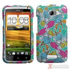 For AT&T HTC One X / One X+ Case Cover Hard Protector Image Printed