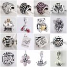 Authentic Solid 925 Sterling Silver Charms F fit European Bead Charm Bracelets