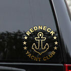 REDNECK Yacht Club Decal Sticker Fishing Boater Laptop Truck Car Window Laptop