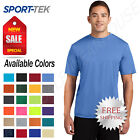 Sport Tek Mens Dri Fit PosiCharge Workout S 4XL T Shirt M ST350