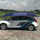 Half Automatic Awning Tent Car Cover Outdoor Waterproof Portable Car Umbrella DI